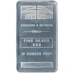 10 oz NTR Silver Bullion Bar 999 Fine Silver
