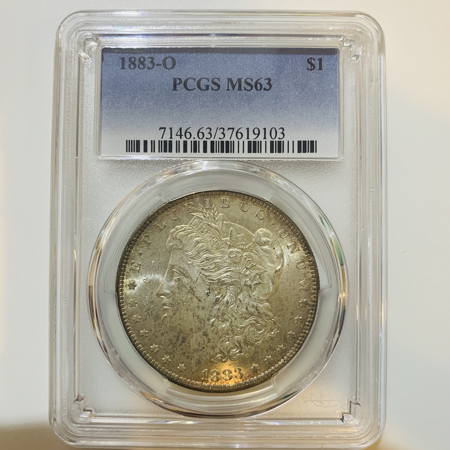 1883-O Silver Morgan Dollar PCGS MS-63
