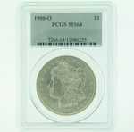 1900 O Silver Morgan Dollar PCGS MS-64