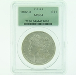 1902 O Silver Morgan Dollar PCGS MS-64