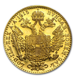 1915 Austria Gold 1 Ducat Coin .1106 oz Fine Gold