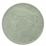 1922 Peace Silver Dollar Circulated