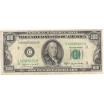 1950 C $100 One Hundred Dollars Federal Reserve Note Currency