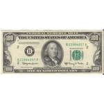 1950 E $100 One Hundred Dollars Federal Reserve Note Currency