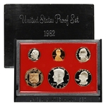 1983 US Mint Proof Set Coins