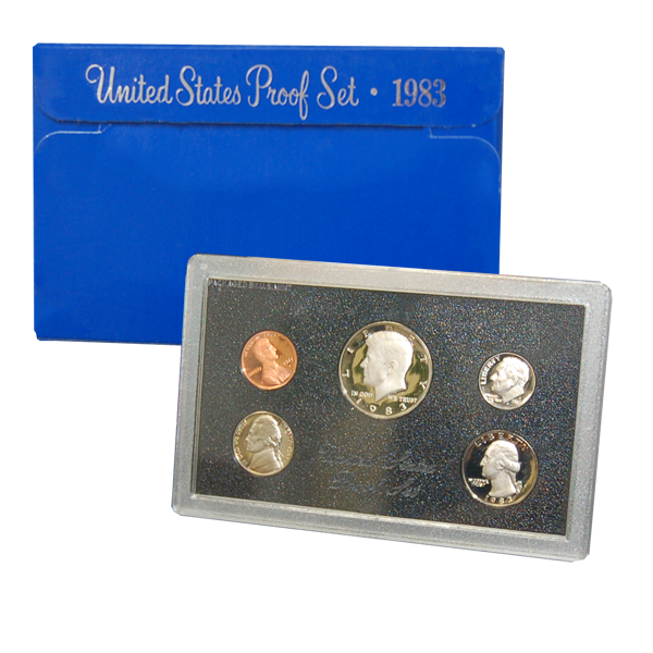 1994 US Mint Proof Set Coins