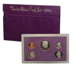1984 US Mint Proof Set Coins