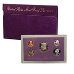 1990 US Mint Proof Set Coins