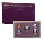 1992 US Mint Proof Set Coins