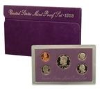 1993 US Mint Proof Set Coins