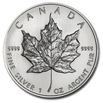 1994 1 oz Canadian Silver Maple Leaf Coin 9999 Silver