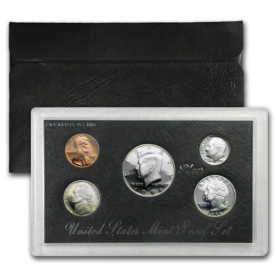 1996 Silver Proof Set Coins