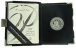 1997-W Proof American Eagle Platinum 1/4 oz Coin With Box & COA