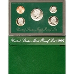 1997 US Mint Proof Set Coins