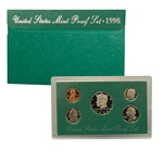 1978 US Mint Proof Set Coins
