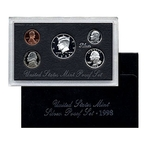1998 Silver Proof Set Coins