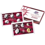 2000 Silver Proof Set Coins