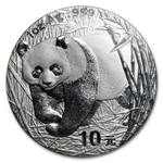 1989 1 Ounce Silver Chinese Panda Coin
