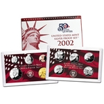 2002 Silver Proof Set Coins