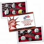 2004 Silver Proof Set Coins
