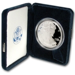 2004 W Proof American Silver Eagle Coin - Click Image to Close