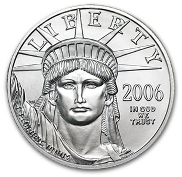2006 1/2 oz Platinum American Eagle - Brilliant Uncirculated