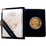 2007-W American 1 Ounce Proof Gold Buffalo Coin With Box & COA