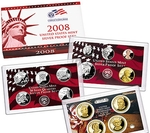 2008 Silver Proof Set Coins
