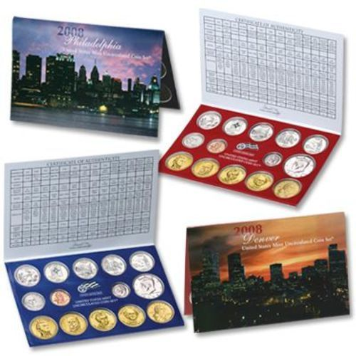 2008 Uncirculated US Mint Coin Set