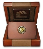 2008-W American 1/10 oz Proof Gold Buffalo Coin With Box & COA