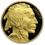 2010-W American 1 Ounce Proof Gold Buffalo Coin With Box & COA - Click Image to Close