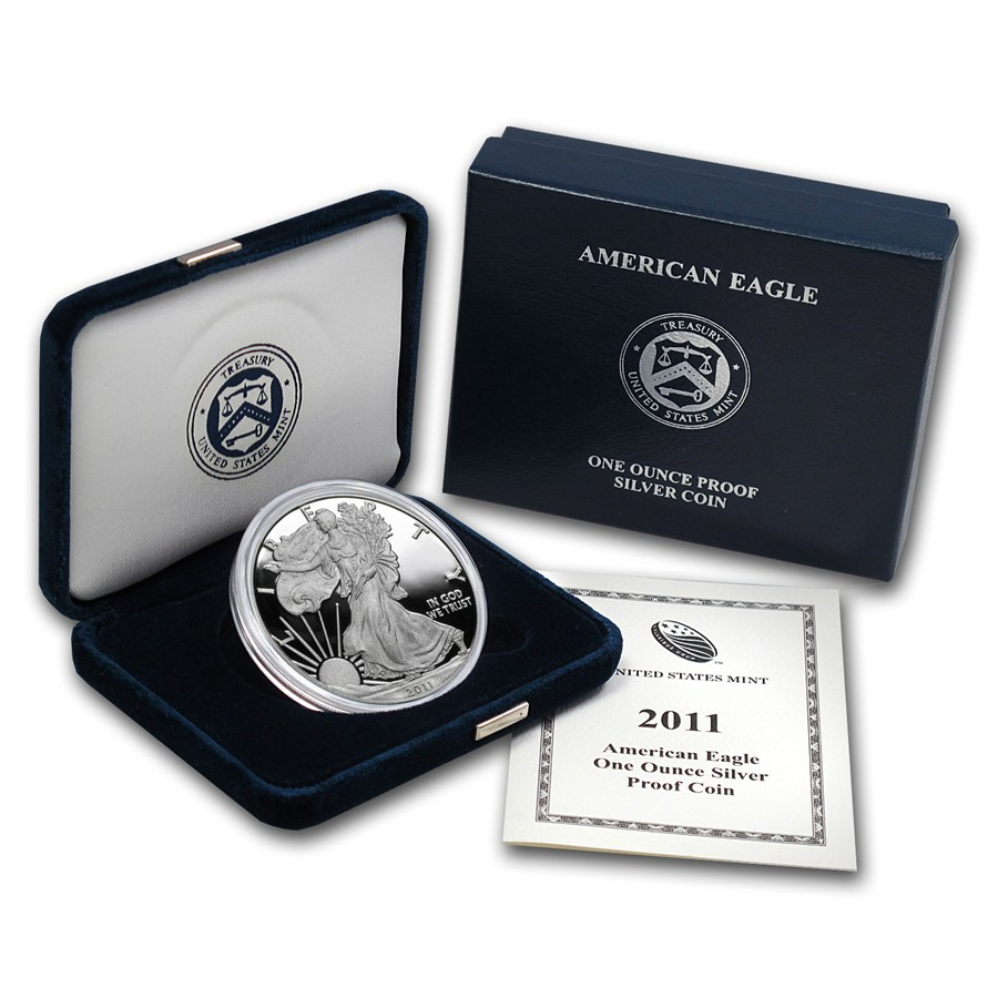 2011 W Proof American Silver Eagle Coin