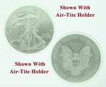 2011 1 oz American Silver Eagle Coin With Air-Tite Holder - Click Image to Close