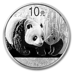 2011 1 Ounce Silver Chinese Panda Coin