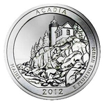 2012 5 Ounce America The Beautiful Acadia National Park