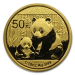 2012 1/10 Ounce Chinese Gold Panda Coin Sealed