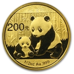 2012 1/2 Ounce Chinese Gold Panda Coin Sealed