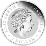 2012 1 oz Silver Australian Koala Coin - Click Image to Close