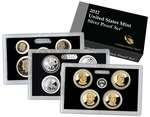 2012 Silver Proof Set Coins