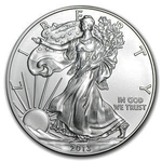 2013 1 oz American Silver Eagle Coin With AIR-TITE Holder