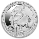 2013 5 oz Silver ATB Mount Rushmore National Park SD