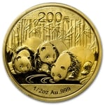 2013 1/2 Ounce Chinese Gold Panda Coin Sealed