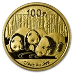 2013 1/4 Ounce Chinese Gold Panda Coin Sealed