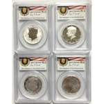 2014 PCGS 69 Set 4 Kennedy Half Dollar 50th Anniversary FS