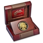 2014-W American 1 oz Proof Gold Buffalo Coin With Box & COA