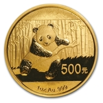 2014 1 oz Chinese Gold Panda Coin Sealed