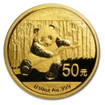 2014 1/10 oz Chinese Gold Panda Coin Sealed