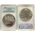 2014 5 oz Silver PCGS MS69 DMPL FS Great Sand Dune National Park