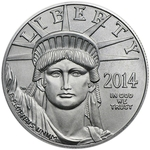 2014 1 oz Platinum American Eagle Coin