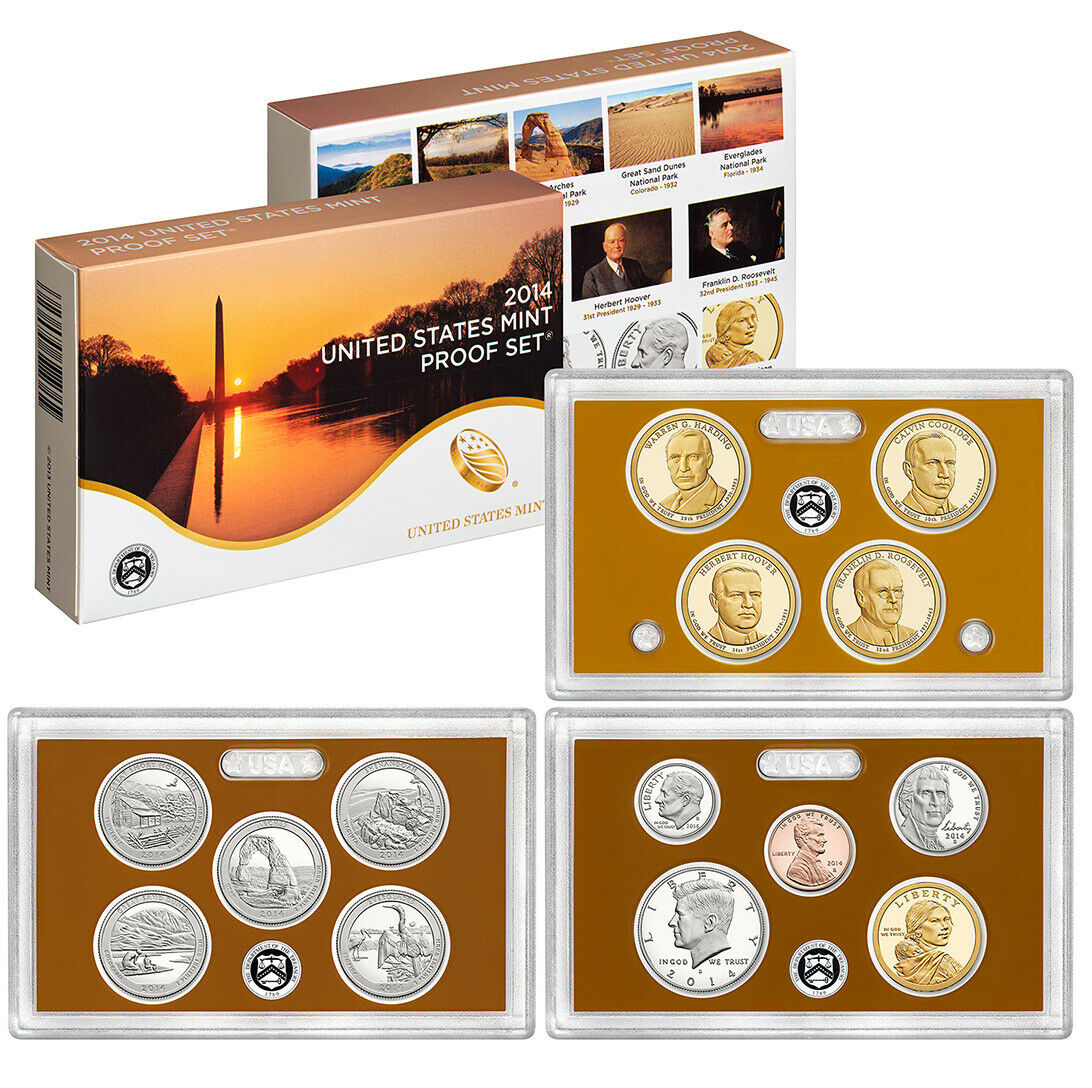 2014 US Mint Proof Set